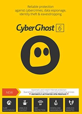 CyberGhost Crack VPN V7 Full Version With Keygen Latest 2019