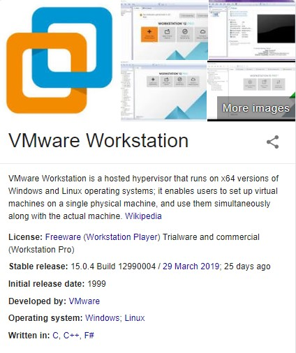 vmware workstation 15 pro license key